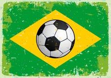 Flag of Brazil. Vector Stock Photography