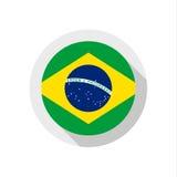 Flag of Brazil Stock Images