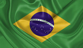 Flag of Brazil Stock Images