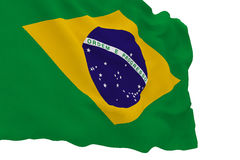 Flag of Brazil World Cup Royalty Free Stock Images