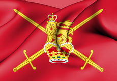 Flag of British Army. Royalty Free Stock Photography