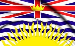 Flag of British Columbia, Canada. Stock Image