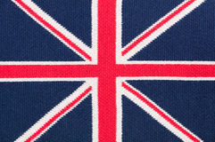 Flag british knit Royalty Free Stock Photos