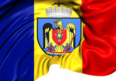 Flag of Bucharest Royalty Free Stock Photos