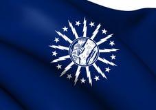 Flag of Buffalo, USA. Stock Photos