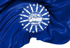 Flag of Buffalo, USA. Royalty Free Stock Images
