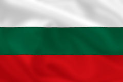 Flag of Bulgaria Royalty Free Stock Photos