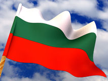 Flag. Bulgaria. Stock Image
