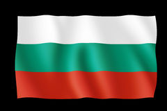 Flag of Bulgaria Stock Photography