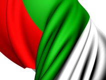 Flag of Bulgaria. Close Up Royalty Free Stock Photo