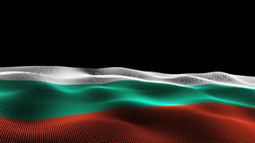 Flag of Bulgaria stock illustration