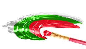Flag of Bulgaria. Stock Photo