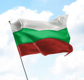 Flag of Bulgaria Stock Image