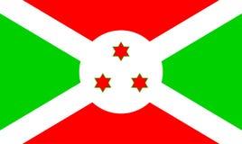 Flag of Burundi stock images
