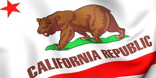 Flag of California Royalty Free Stock Photography