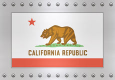 Flag of California Stock Image