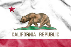 Flag of California, USA. Royalty Free Stock Photos