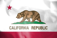 Flag of California, USA. Royalty Free Stock Image