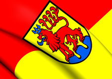 Flag of Calw, Germany. Stock Photo