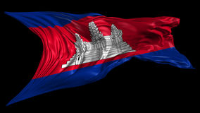 Flag of Cambodia Royalty Free Stock Image
