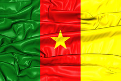 Flag of Cameroon Royalty Free Stock Images