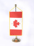 Flag of Canada Royalty Free Stock Photography