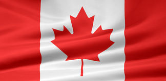 Flag of Canada. Very large version of the Canada flag Royalty Free Stock Photography