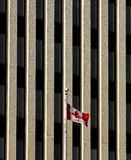 Flag Canada Office Building Royalty Free Stock Photo