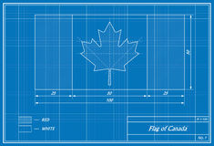 Flag of the Canada Royalty Free Stock Images