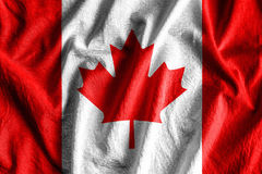 Flag of Canada royalty free stock photos
