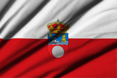 Flag of Cantabria Royalty Free Stock Photo