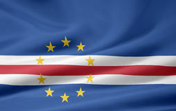 Flag of Cape Verde Stock Photos
