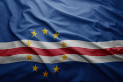 Flag of Cape Verde Royalty Free Stock Image