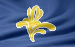 Flag of the captial region of brussels - Belgium Stock Photo