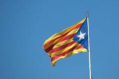 Flag of Catalonia Royalty Free Stock Photo
