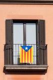 Flag of Catalonia Stock Image