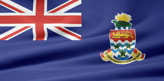 Flag of the Cayman Islands. Very large version of an cayman islands flag Stock Image
