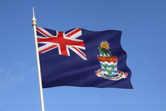 Flag of the Cayman Islands - The Caribbean Royalty Free Stock Photography