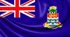 Flag of Cayman Islands Royalty Free Stock Photography