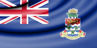 Flag of Cayman Islands. Stock Photography