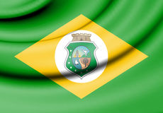 Flag of Ceara, Brazil. 3d Rendered Flag of Ceara, Brazil Royalty Free Stock Images