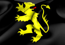 Flag of Ceredigion, Wales. 3d Rendered Flag of Ceredigion, Wales Royalty Free Stock Photo
