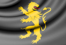 Flag of Ceredigion, Wales. 3d Rendered Flag of Ceredigion, Wales Royalty Free Stock Photography