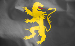 Flag of Ceredigion, Wales. 3d Rendered Flag of Ceredigion, Wales Royalty Free Stock Images