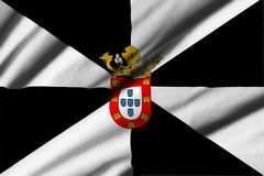 Flag of Ceuta Stock Photography