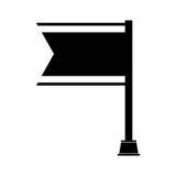 Flag championship isolated icon. Vector illustration design Royalty Free Stock Photo