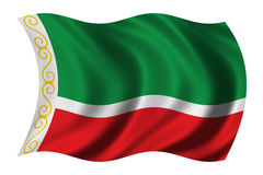 Flag of Chechnya Royalty Free Stock Photography