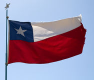 Flag of Chile Royalty Free Stock Photography
