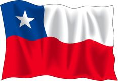Flag of Chile Royalty Free Stock Image