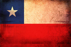 Flag of chile Royalty Free Stock Photo